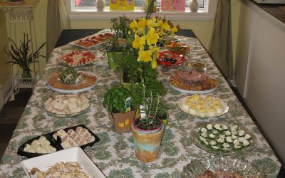 Mother's Day Paisley Herb Tea Party
